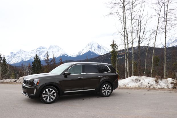 Review On Alberta S Icefields Parkway The Kia Telluride