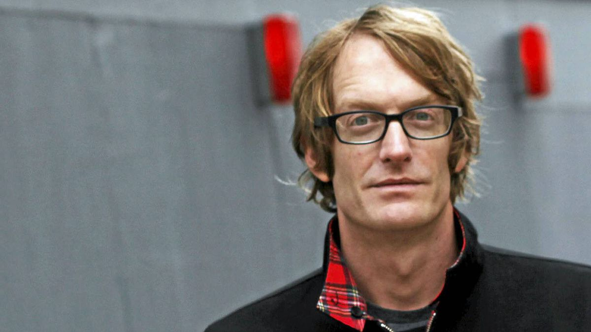Canadian author Patrick deWitt, shortlisted for the Booker Prize for The Sisters Brothers.