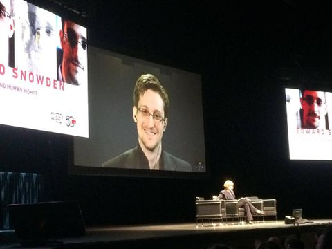 Edward Snowden's talk in Vancouver had an 'electric quality'