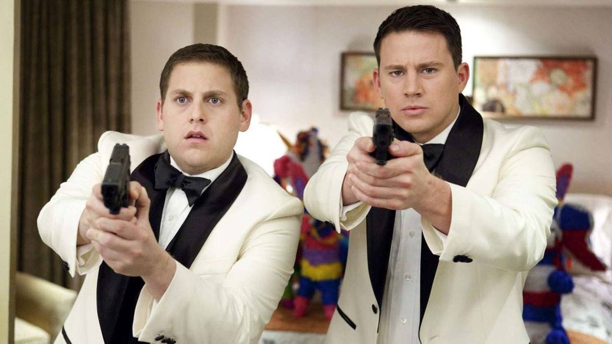 """Jonah Hill, left, and Channing Tatum in a scene from """"21 Jump Street"""""""