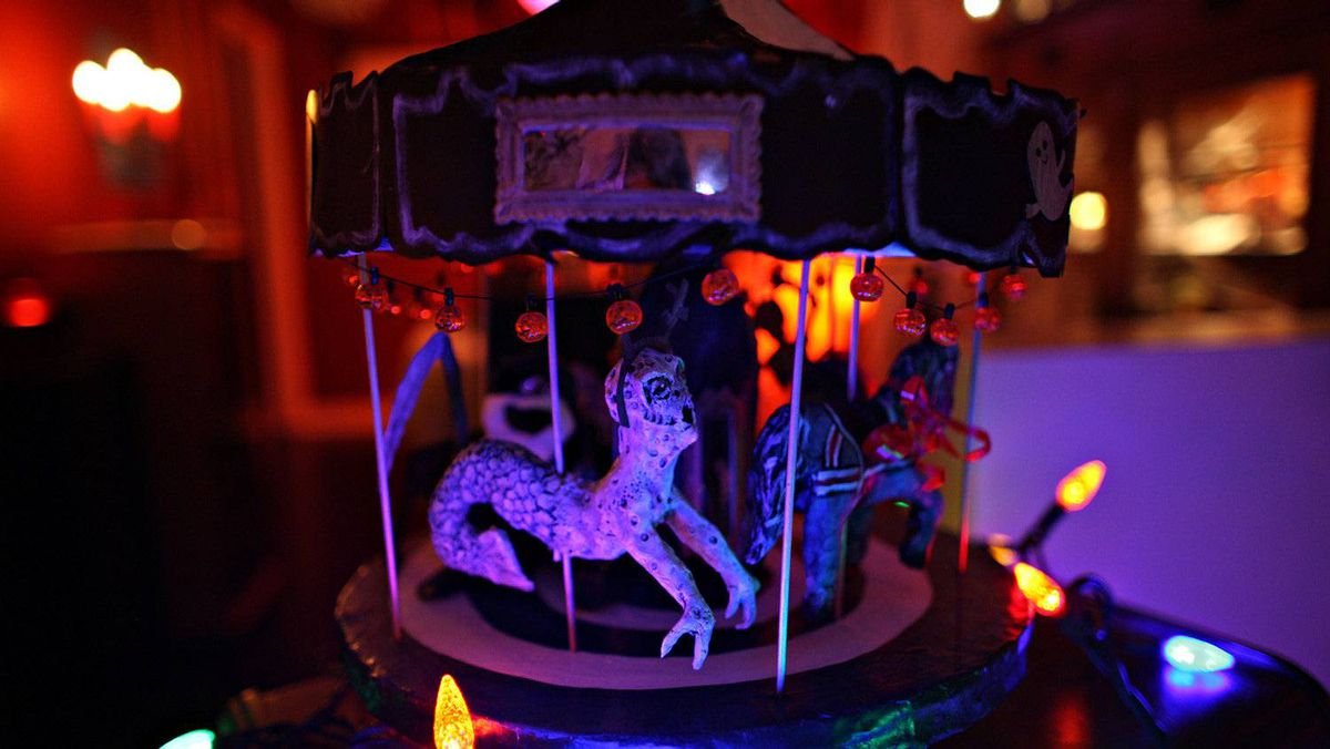 A creepy merry-go-round from inside Danielle Vendetti's house of horrors.