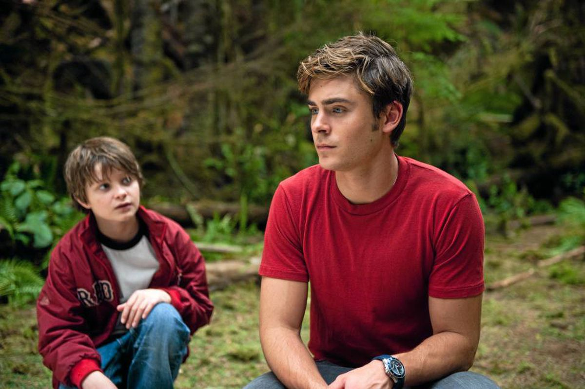 Charlie Tahan, left, and Zac Efron in Charlie St. Cloud.