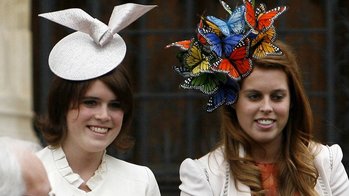 Princesses Eugenie, left, and Beatrice Ferguson are both on the leaded wedding invite list. But their mother, Sarah Ferguson, former wife of Prince Andrew, is not.