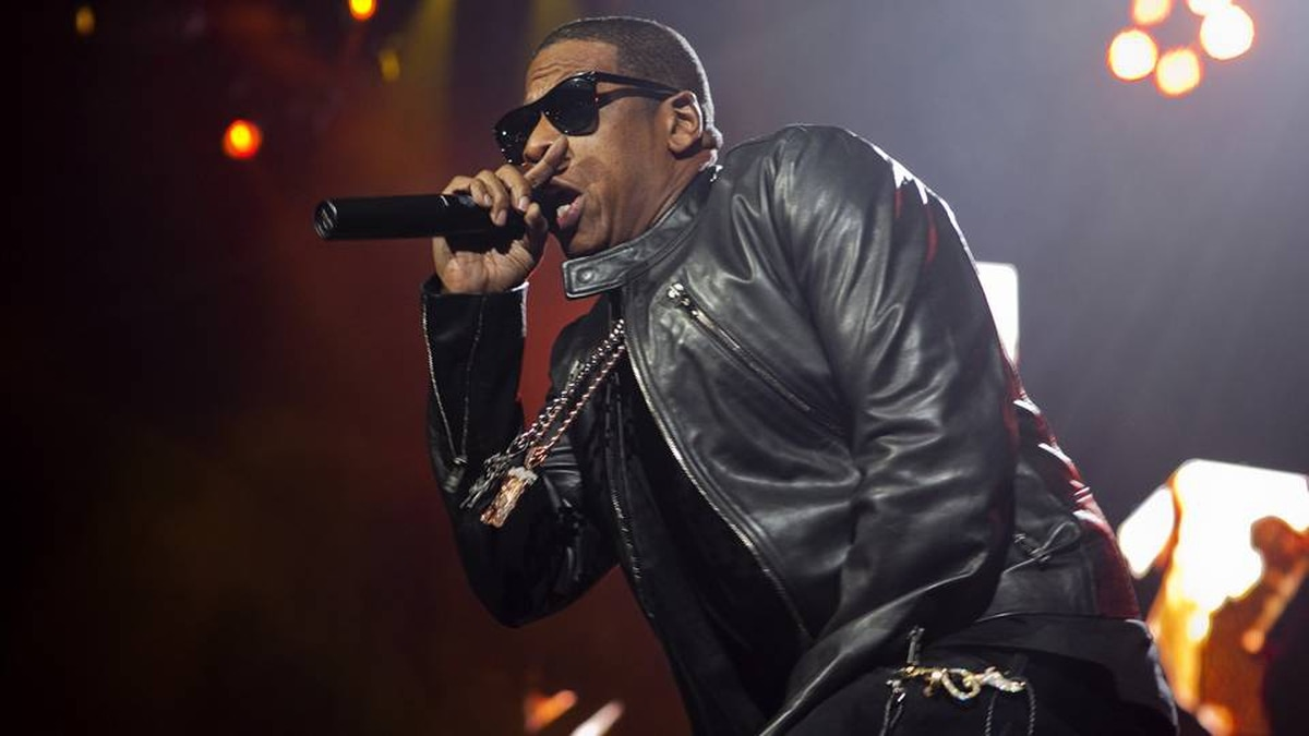 Jay-Z played to a sold-out audience in Toronto on Halloween. Della Rollins for The Globe and Mail