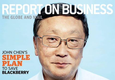 John Chen's simple plan to save BlackBerry