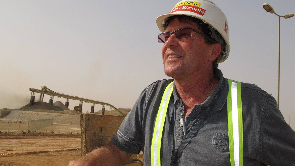 Gilles Hetu, director of health, safety and sustainable development at the Essakane gold mine in Burkina Faso, says Iamgold had to train more than 1,000 local people in construction skills to get the mine built.