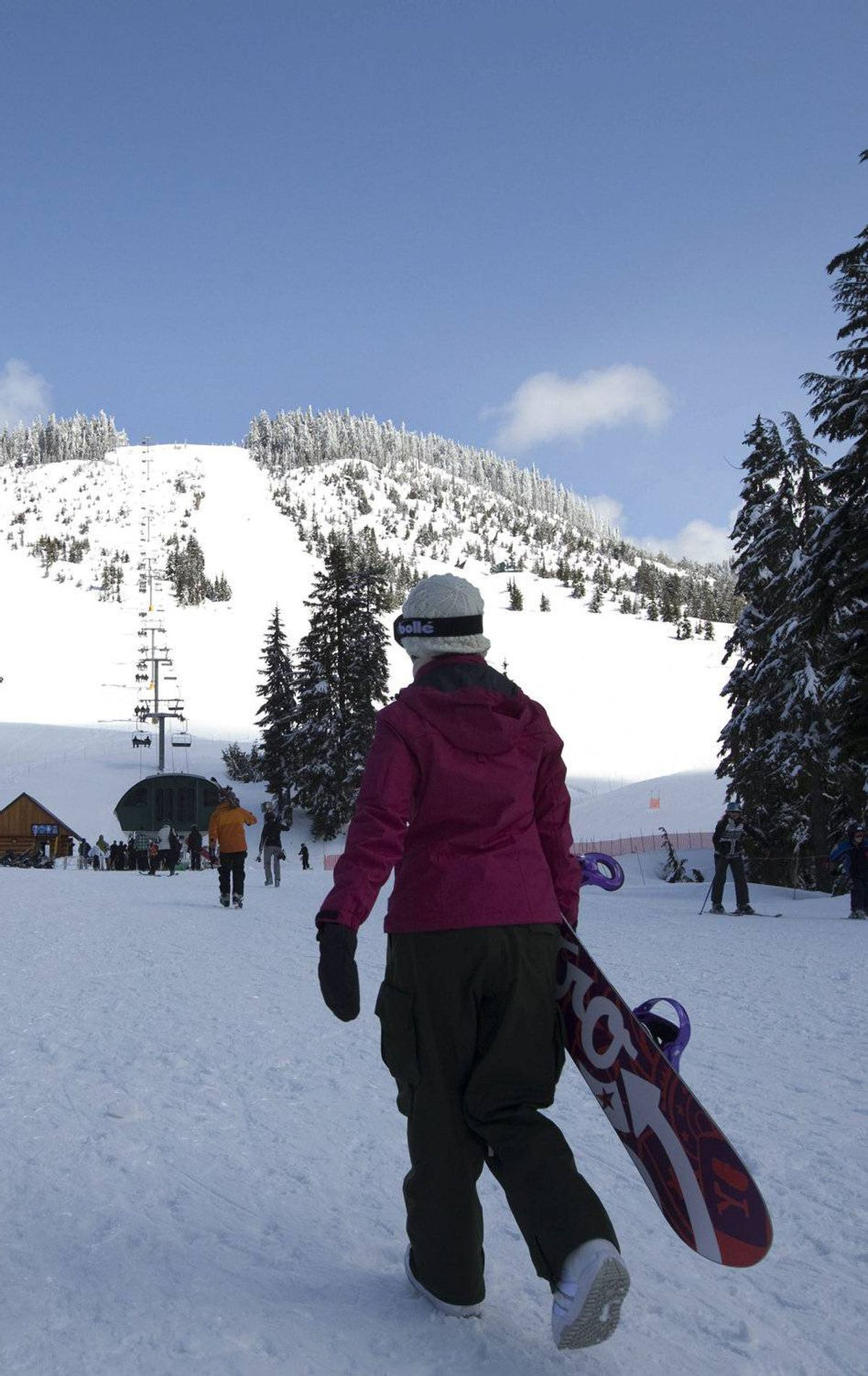 Cypress Mountain Outdoorsy types should head here, just 30 minutes outside Vancouver. Conditions have been great on the slopes and cross-country trails. If the kids aren't into skiing, they can horse around in the Snowtube Park. After the slopes, unwind at the Sandman Hotel in Vancouver (average price: $95 a night). cypressmountain.com