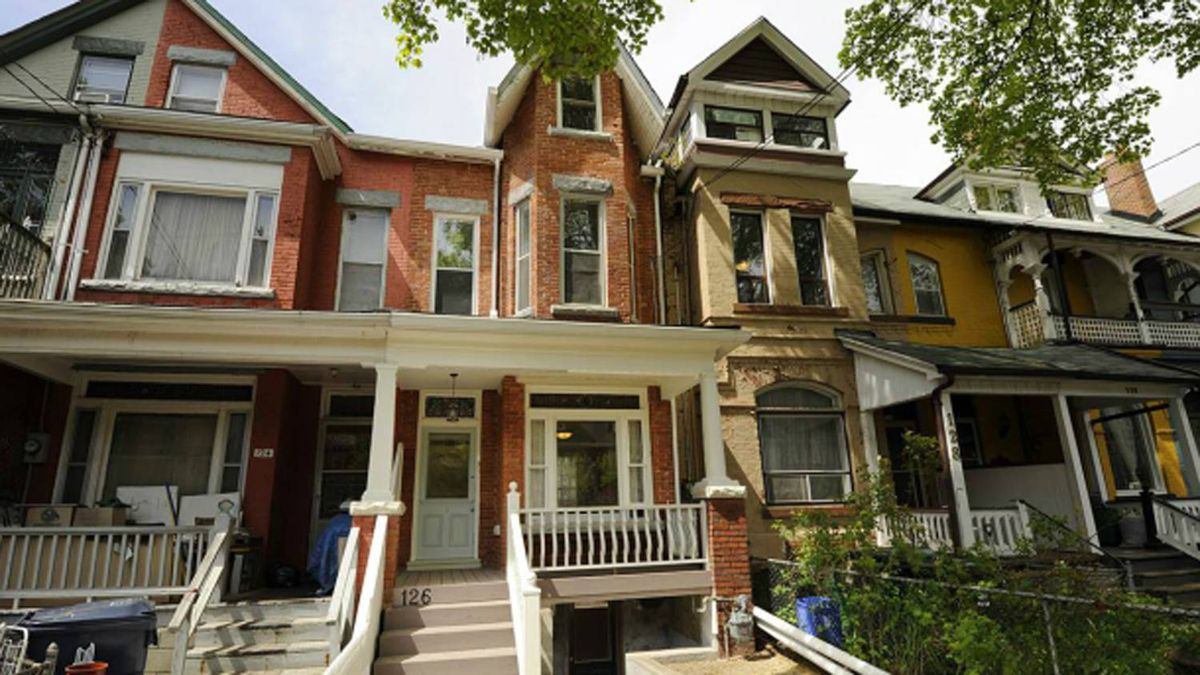 TORONTO: 126 Brunswick Ave. Toronto, ON M5S 2M2 Asking price: $779,000 This two-storey Victorian duplex in the Annex has five bedroom units and two bathrooms.