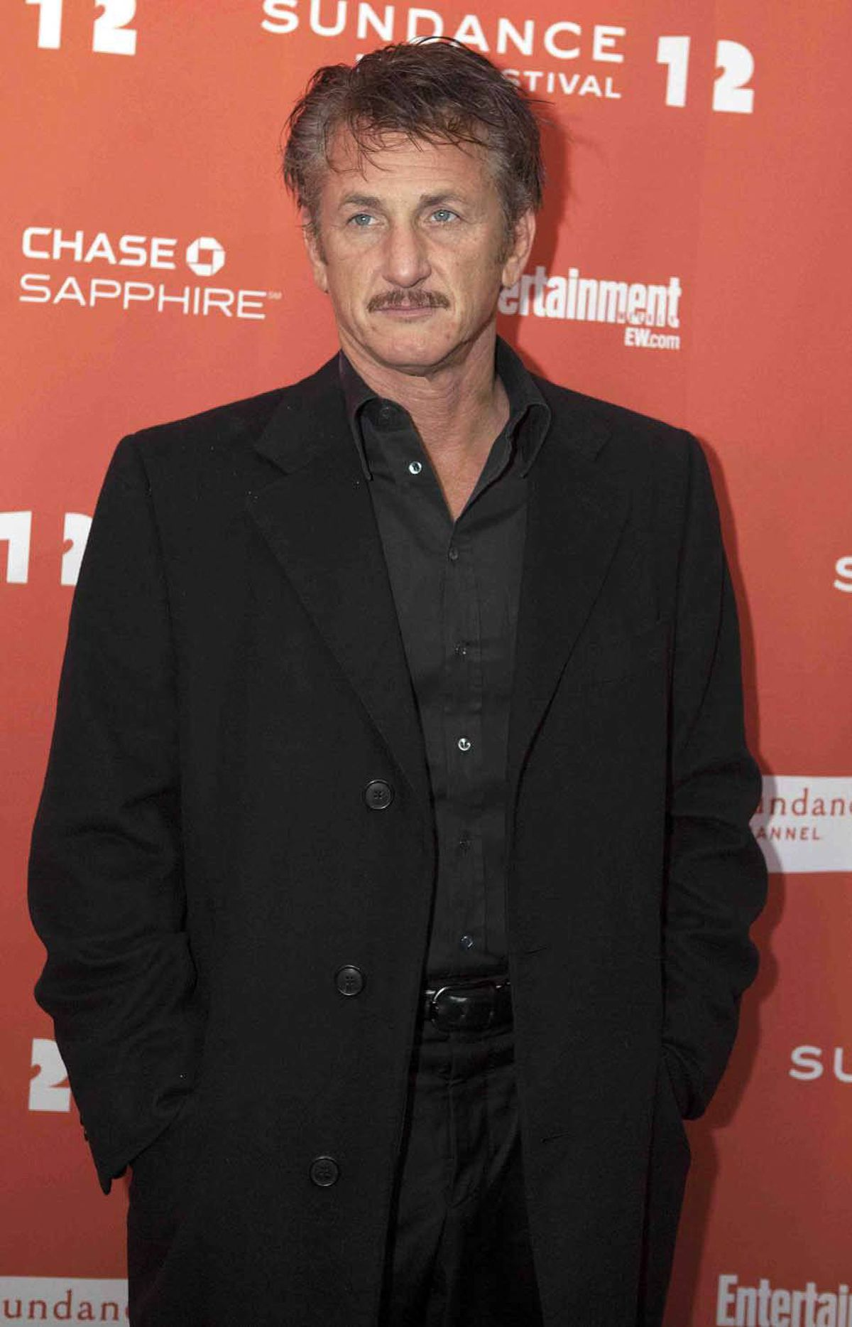 """Actor Sean Penn, who called celebrity a """"disease"""" and a """"herd commitment"""" at the Sundance Film Festival, graciously submits to having his photo taken on the red carpet at the Sundance premiere of his latest movie, which he really hopes you'll go see, but not, of course, because he's the """"star"""" but because you, too, detest celebrity and worship him for his anti-celebrity stance. He recently dated Scarlett Johansson and you didn't."""