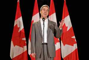 Liberal Leader Michael Ignatieff speaks during a closing press conference at the party's caucus retreat in Sudbury on Sept. 2, 2009.