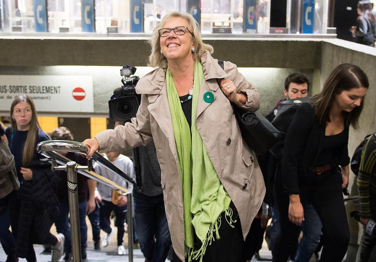 The Green Leader's great expectations: How Elizabeth May nearly quit after 2015, but stayed for a showdown on climate change - The Globe and Mail