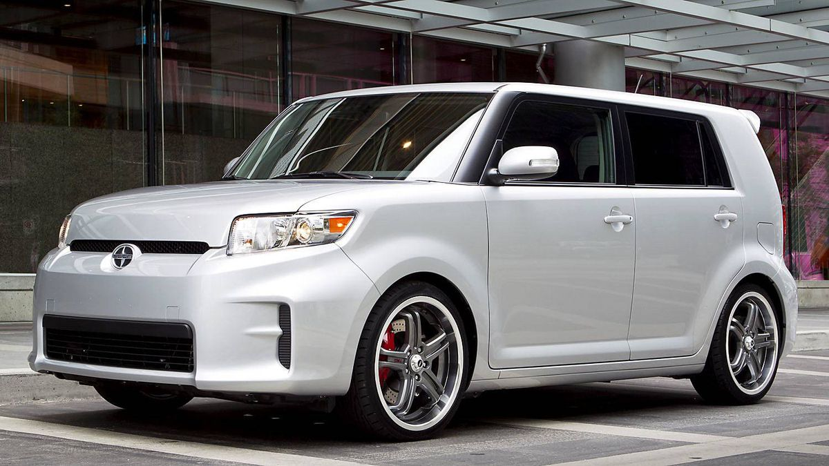 2011 Scion xB: Square is beautiful, at least in Scion?s way of thinking.