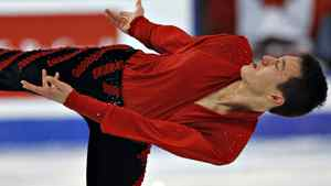 Patrick Chan of Canada performs his free program in the men's competition at the ISU Grand Prix of Figure Skating Final Saturday, December 10, 2011 in Quebec City. THE CANADIAN PRESS/Jacques Boissinot