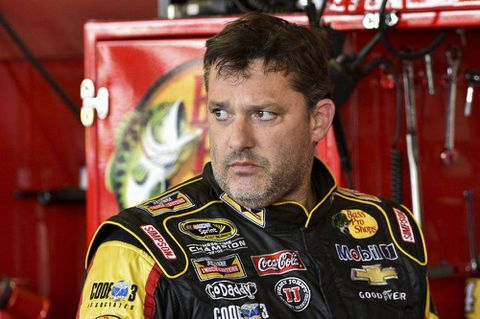 Stewart leaves NASCAR race as authorities begin to analyze how his car struck, killed driver