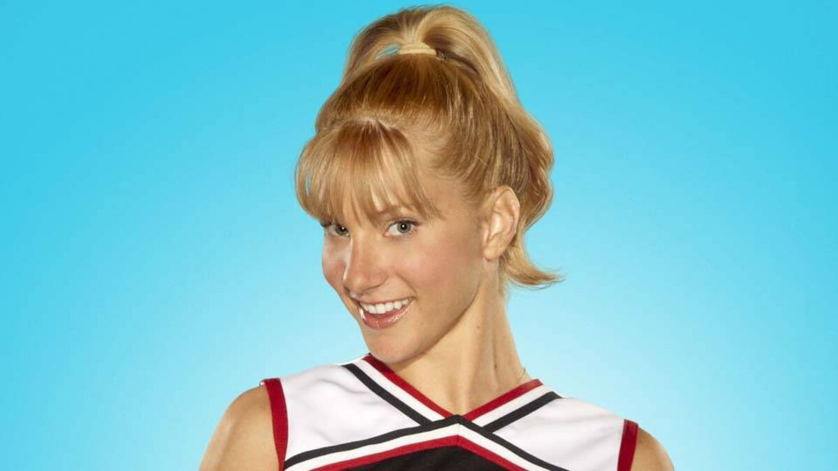 Heather Morris stars in the TV show Glee.