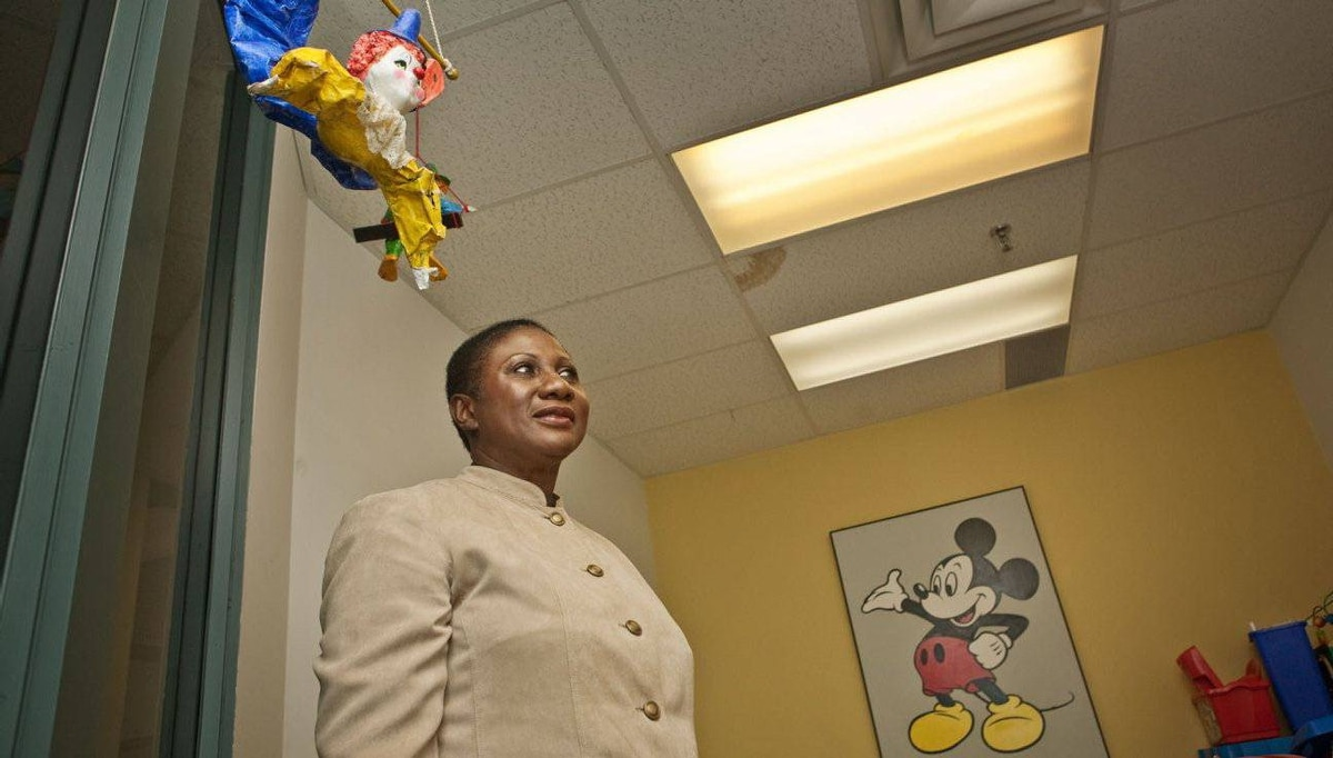 Vandella McKenzie works as a child protection worker at the Catholic Children's Aid Society in Toronto.