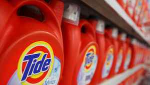 Procter & Gamble's Tide can be seen on display at a Wal-Mart store in Chicago, January 24, 2012.