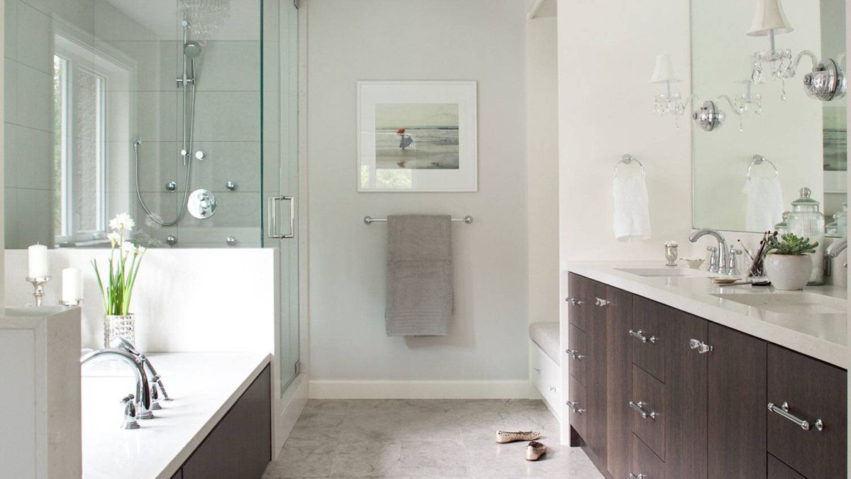 bathroom design straight thinking for a narrow room   the