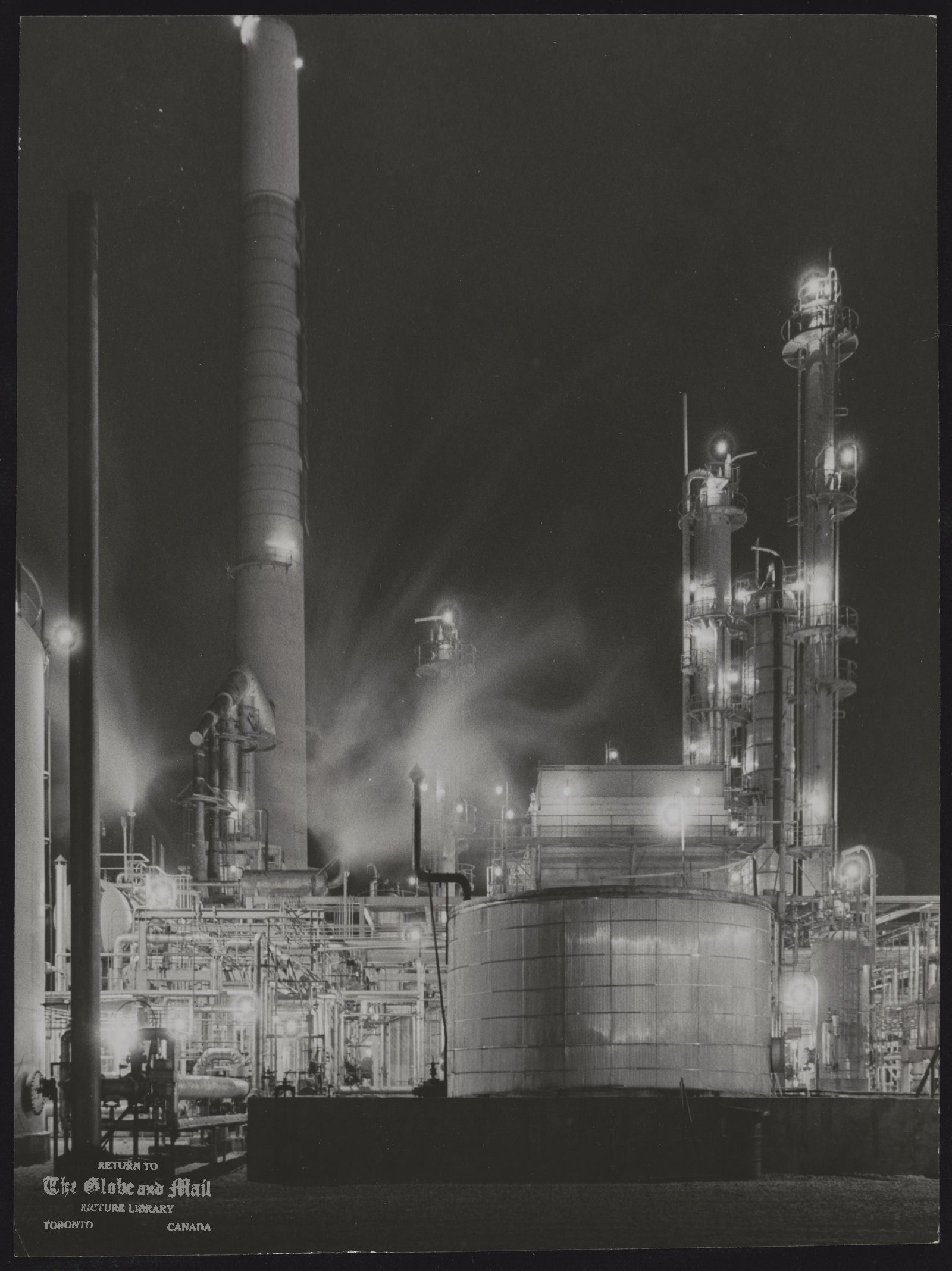SHELL OIL COMPANY OF CANADA For second year, Shell Canada Ltd. is marking Christmas time by adding extra lights to its already well-illuminated refinery property at Clarkson, west of Toronto.